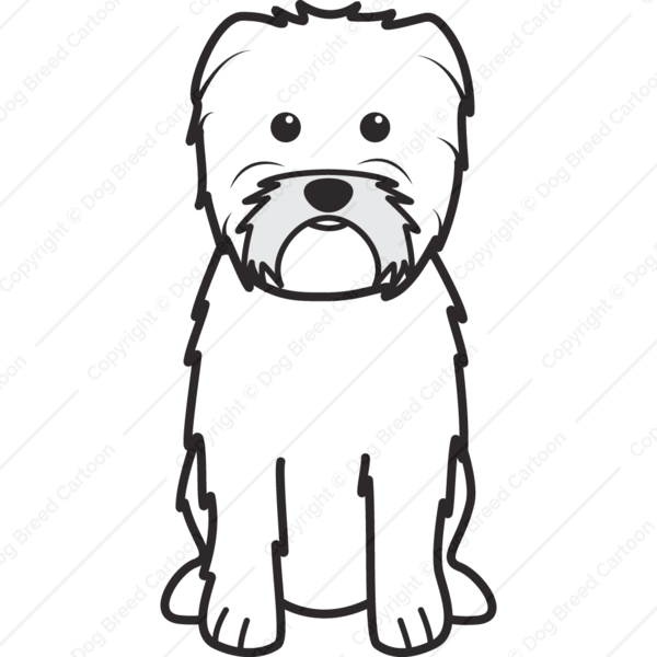 Affenpinscher Cartoon