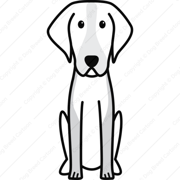 American Foxhound Cartoon