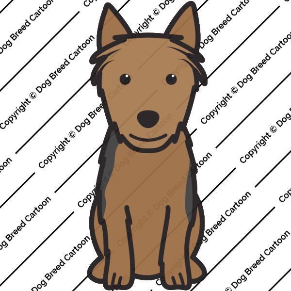 Australian Terrier Cartoon
