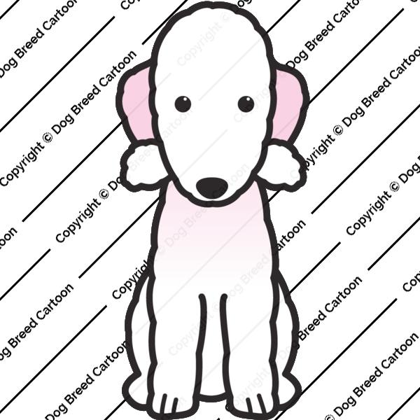 Bedlington Terrier Cartoon