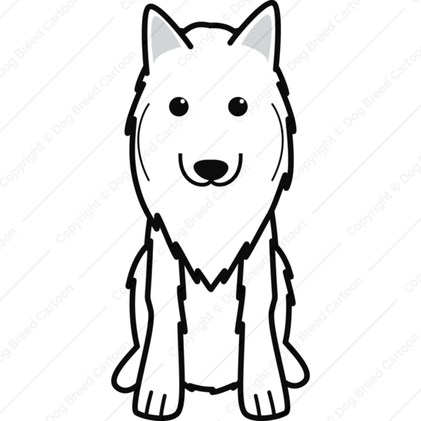 Belgian Tervuren Cartoon