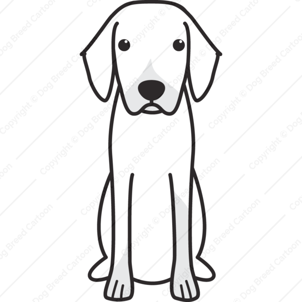 Black Forest Hound Cartoon