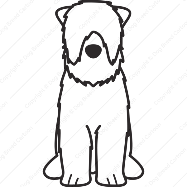 Black Russian Terrier Cartoon
