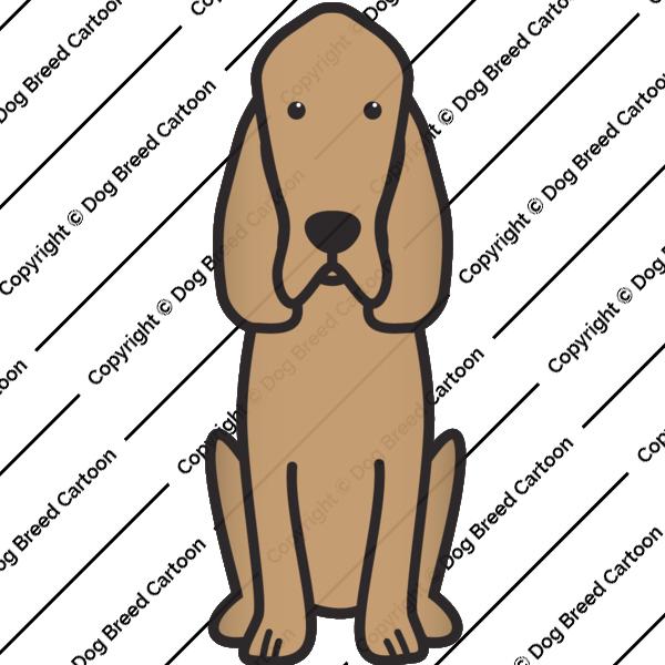 Bloodhound Cartoon