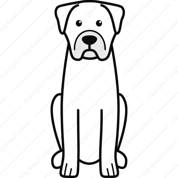 Boerboel Cartoon