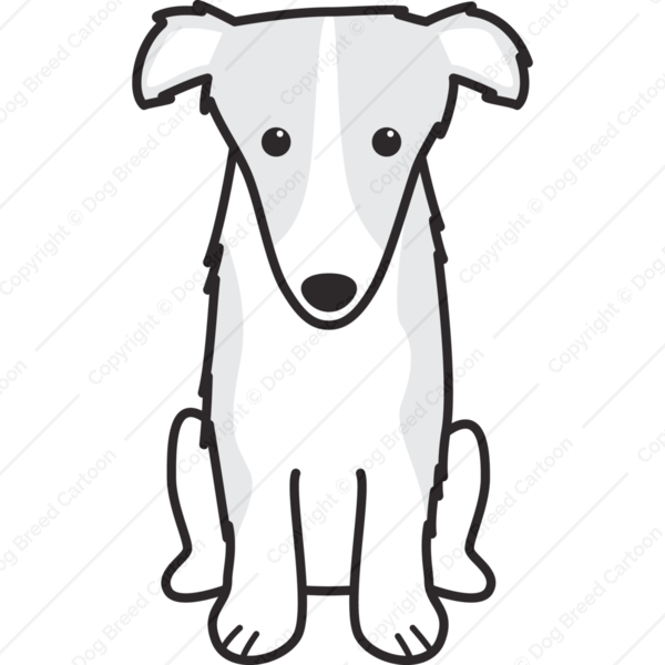 Borzoi Cartoon