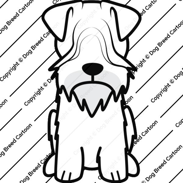 Cesky Terrier Cartoon