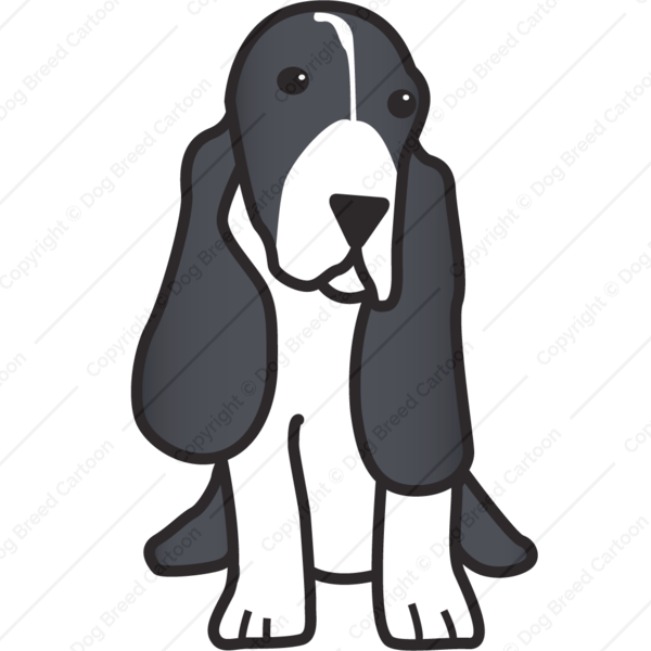Basset Hound Cartoon