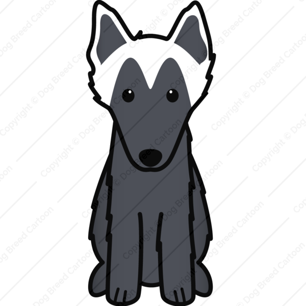 Belgian Sheepdog Cartoon
