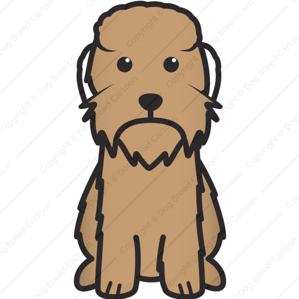 Dandie Dinmont Terrier Cartoon