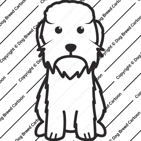 Dandie Dinmont Terrier Cartoon