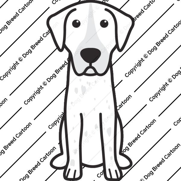 English Coonhound Cartoon