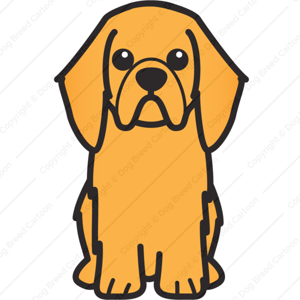 English Toy Spaniel Cartoon
