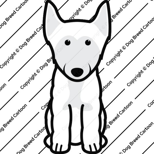 Finnish Lapphund Cartoon