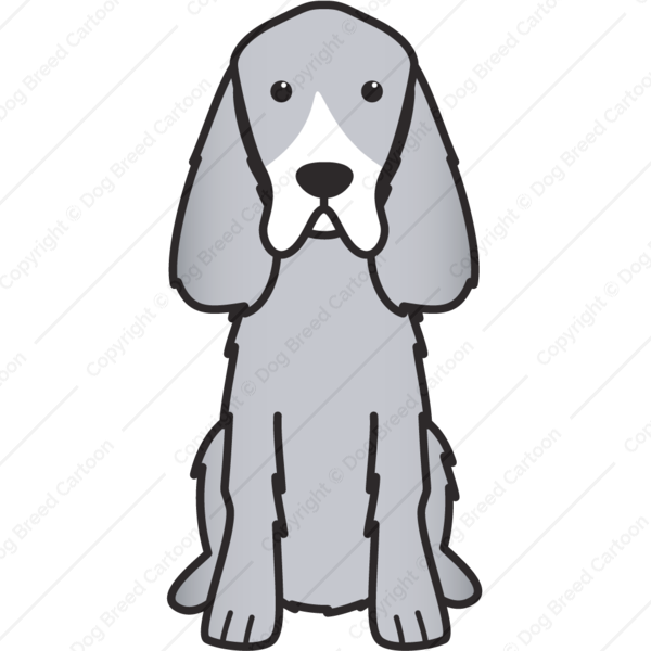 Gordon Setter Cartoon