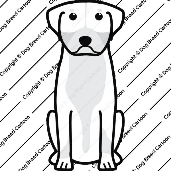 Greater Swiss Mountain Dog Cartoon