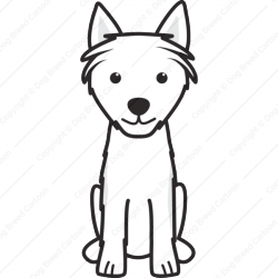 Himalayan Sheepdog Cartoon