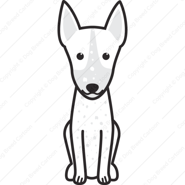 Inca Hairless Dog Cartoon