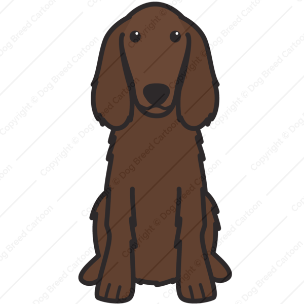 Irish Setter Cartoon