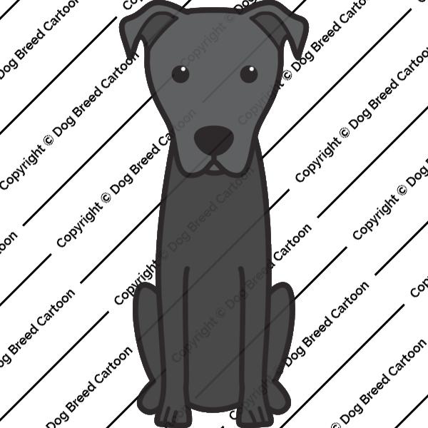 Majorca Shepherd Dog Cartoon
