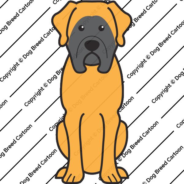 Mastiff Cartoon