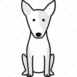 Miniature Bull Terrier Cartoon
