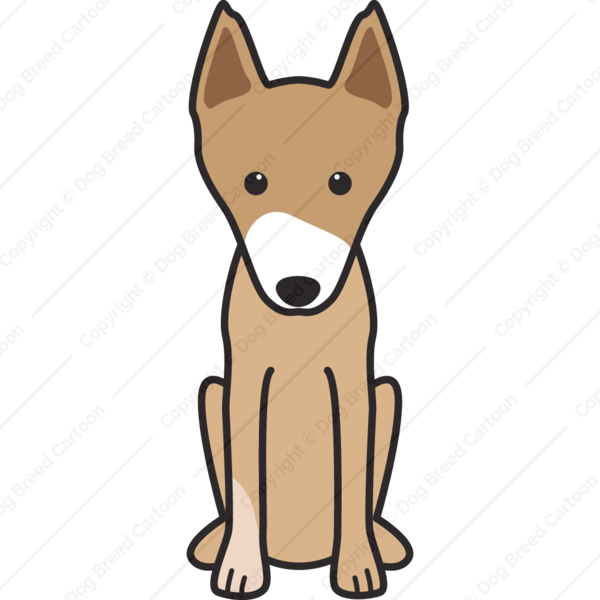 New Guinea Singing Dog Cartoon