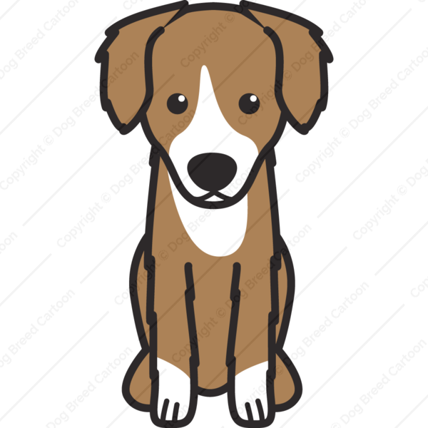 North American Shepherd Cartoon