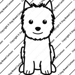 Norwich Terrier Cartoon