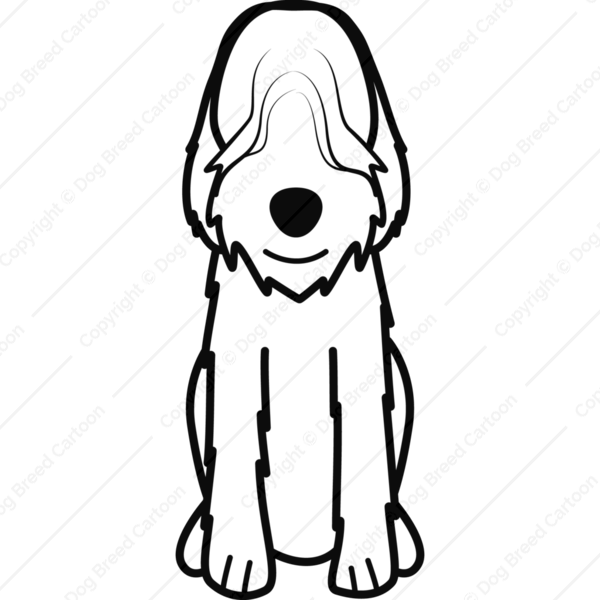 Otterhound Cartoon