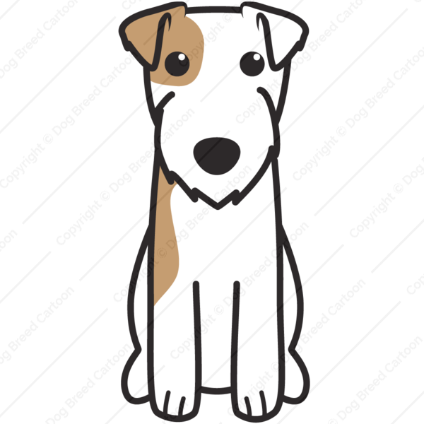 Parson Russell Terrier Cartoon