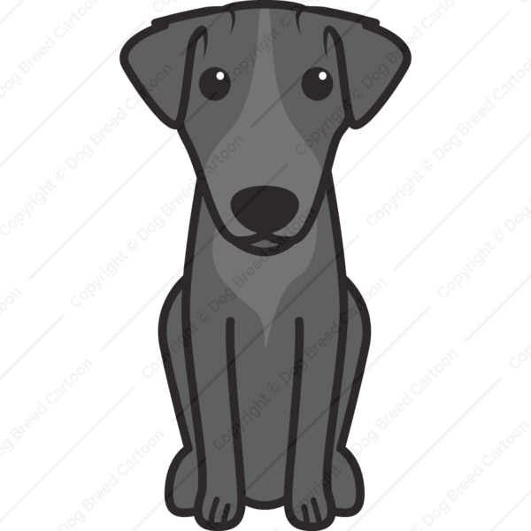 Patterdale Terrier Cartoon