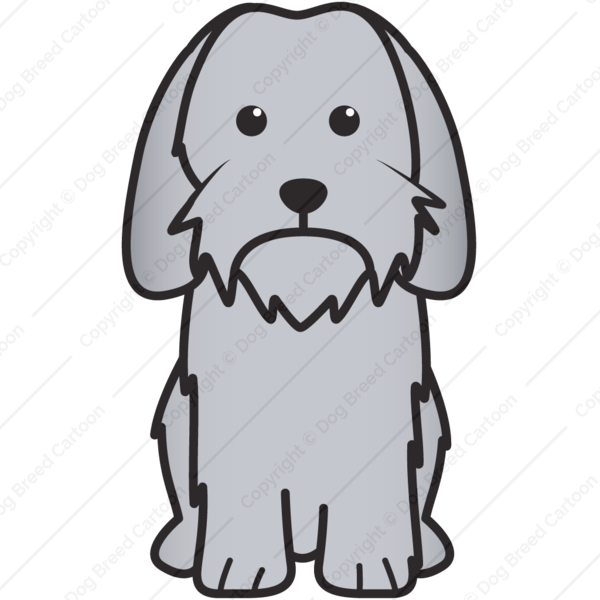 Petit Basset Griffon Vendeen Cartoon