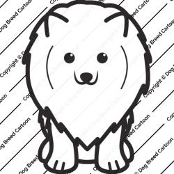 Pomeranian Cartoon