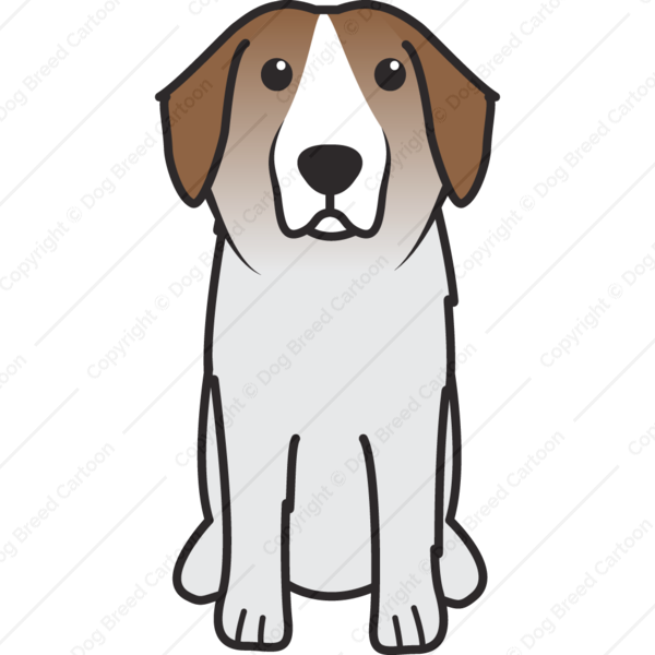 Pyrenean Mastiff Cartoon