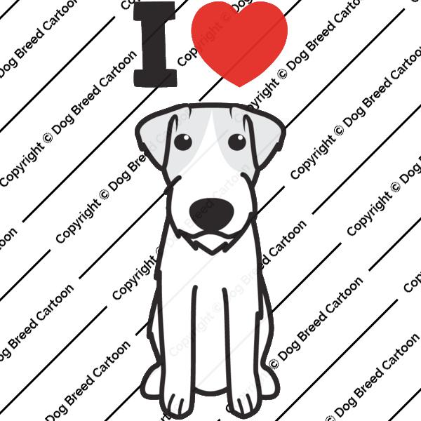 Russell Terrier Cartoon