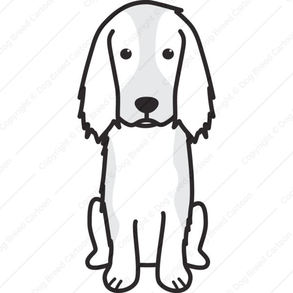 Russian Spaniel Cartoon