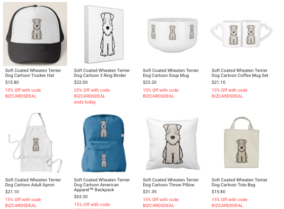Soft Coated Wheaten Terrier Gifts