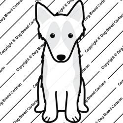 Shetland Sheepdog Cartoon