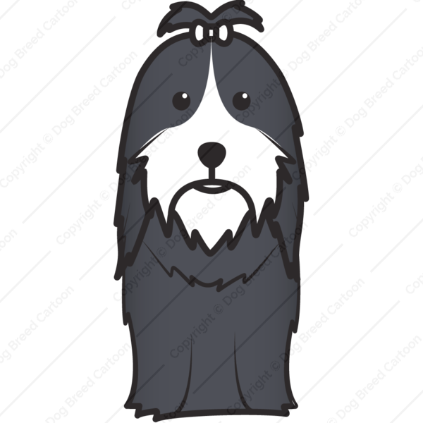Shih Tzu Cartoon
