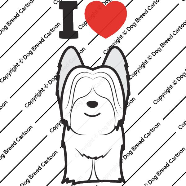 Skye Terrier Cartoon