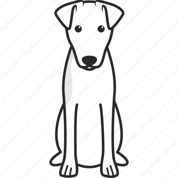 Smooth Fox Terrier Cartoon