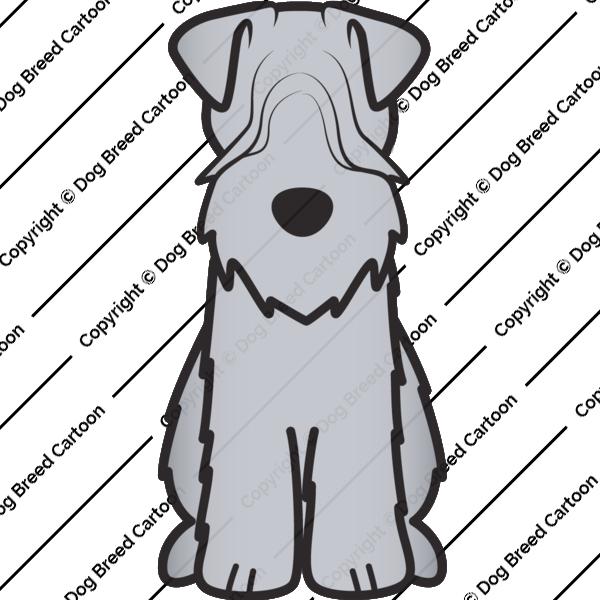 Soft Coated Wheaten Terrier Cartoon
