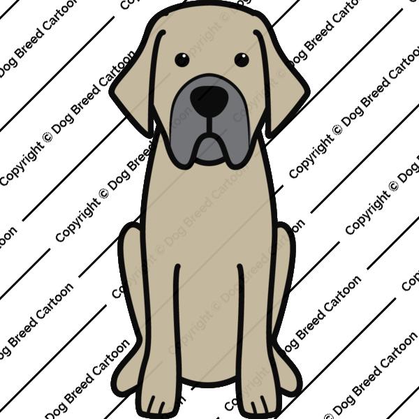 Spanish Mastiff Cartoon
