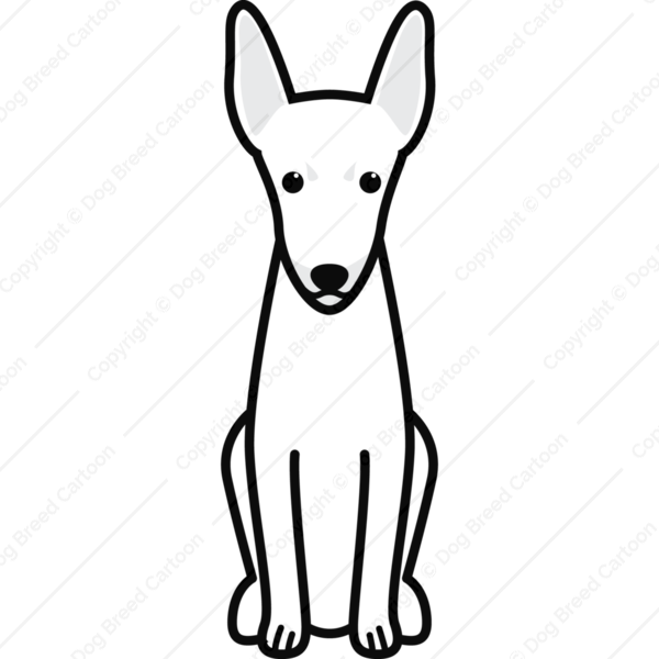 Toy Fox Terrier Cartoon