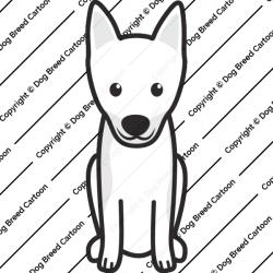 Toy Manchester Terrier Cartoon