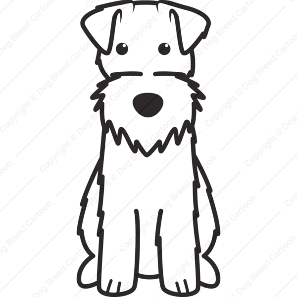 Wire Fox Terrier Cartoon