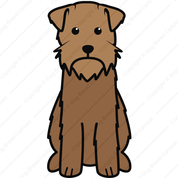 Wirehaired Pointing Griffon Cartoon