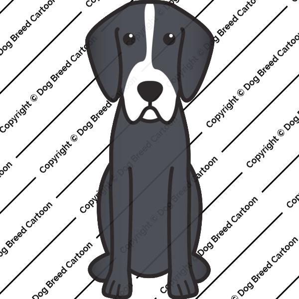 English Foxhound Cartoon