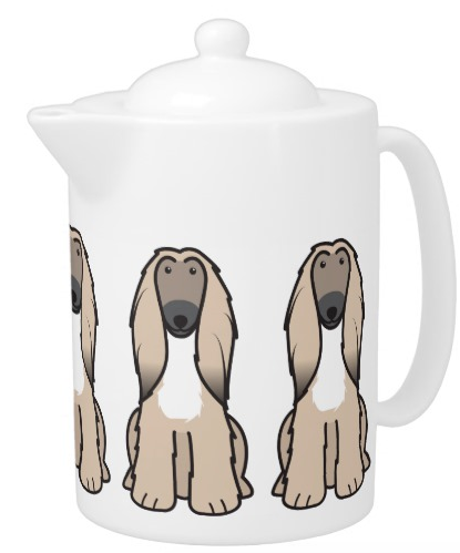 #AfghanHound Teapot